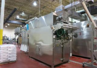 Usine complète de maïs soufflé Cretors avec ensachage et emballage automatique et palettisation - Nouveau 2013