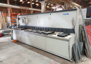 LVD HST-E 40/6 hydraulic shear