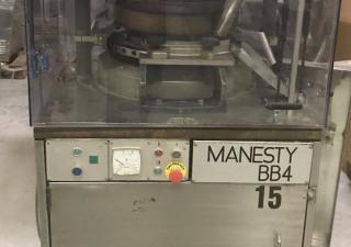 Manesty BB4 Rotary tablet press