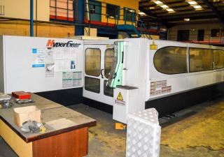 Mazak Hypergear 510 typ 8 laser cutting machine