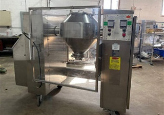 Gemco 5 Cft Double Cone Blender With Bar