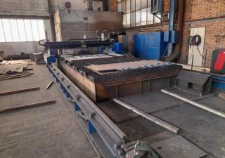 Plasma cutting machine MGM BSM DP 4000