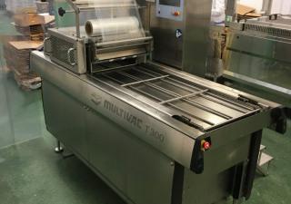 Multivac T300 Tray sealer