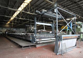 Reggiani Flat Bed 280 Rotary textile printer
