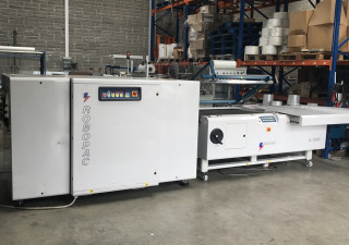 Robopac Large LSealer Shrink Wrapper Shrink Wrapping Machine and Tunnel