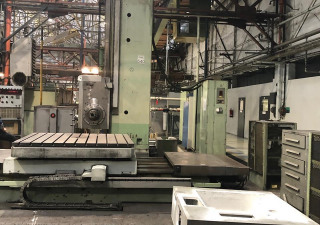 TOS WHN 13.4 B Table type boring machine
