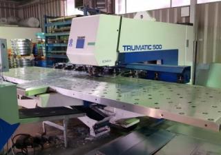 Trumpf TC 500 CNC punching machine