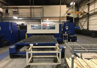 Trumpf TruLaser 5040 5kW laser cutting machine