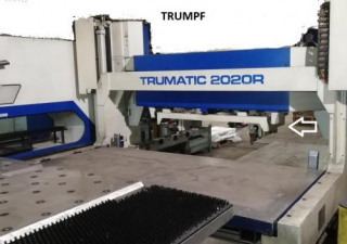 Trumpf TRUMATIC 2020R - FMC SheetMaster CNC punching machine