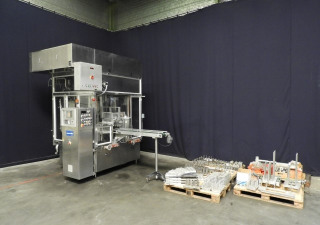 Cup filling and sealing machine Waldner DOSOMAT 10.8