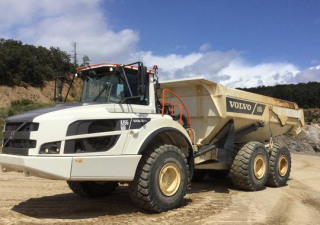 2018 Volvo A35G 6X6 Articulated Dump Truck