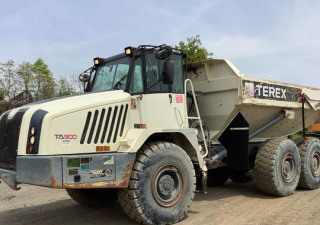 2017 Terex Ta300 6X6 Articulated Dump Truck