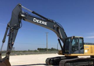 2007 John Deere 240D Lc Track Excavator