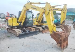 Used Crawler Excavator, Hyundai R80-7 for Sale