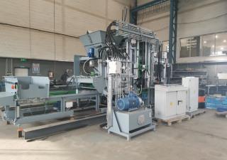 Stationary block machine SUMAB R-500