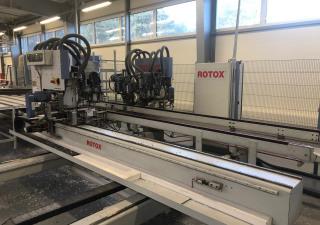 Centre de traitement complet des fenêtres PVC Rotox / ZOR