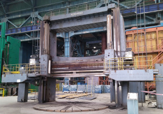 Vertical lathe turning diameter 6600 mm, turning height 6000 mm