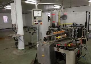 Krones Labeler Wet Glue, 8000 Pcs/Hour