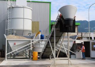 Sweden Automatic concrete plant