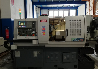 Used POLY GIM DIAMOND 42 Swiss type lathe