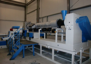 Sikoplast HKS 220/150/26 B2 Extrusion - Single screw extruder