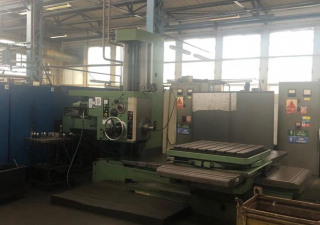 TOS W 75 Table type boring machine