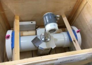 Ultrasonic gas flowmeter