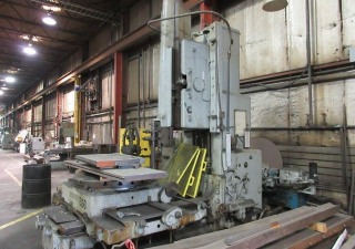 "36"" Rockford Hydraulic Vertical Slotter"