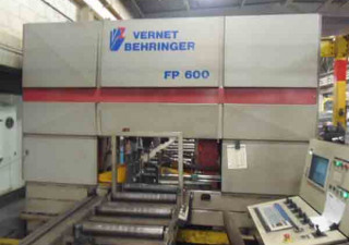 """VERNET BEHRINGER 3-Head CNC Drill Line, 23.6"""" x 13.4"""" Useful Section, 7.4 HP"""