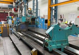 CNC turning lathe Ravensburg - KVH3 - 1000 CNC Ø 2000 x 6000 with Milling & Grinding