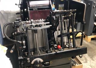 Heidelberg TP  Letterpress / Diecutter - hot foil platen