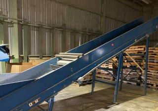 Used 36″ Wide Incline Conveyor
