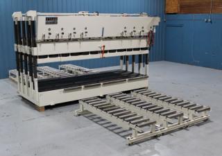 Used Tyler 5' x 12' Side Loading Pod Press