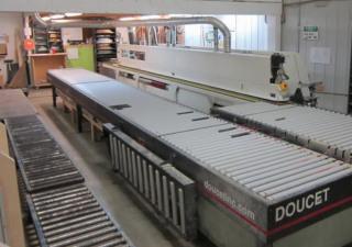 Used IMA Advantage 70 Edgebander with Doucet Return Conveyor
