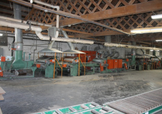"""Used Dubois 48"""" Roll Coat Line with UV Ovens"""