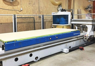Used Weeke Model BHP 200 5' x 12' Flat-Table CNC Router