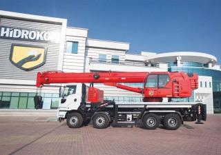 Mobile crane Hidrokon HK 90 33 T3 - 30 ton