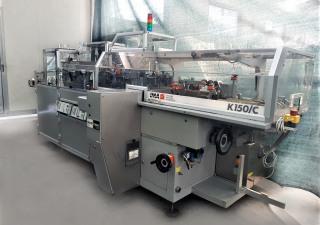 IMA  Mod. K150/C - Automatic horizontal cartoner used