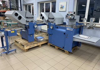 Folding machine MBO T530 / 4-F + cross + mobile delivery
