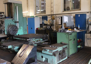 TOS H 100 A Table type boring machine