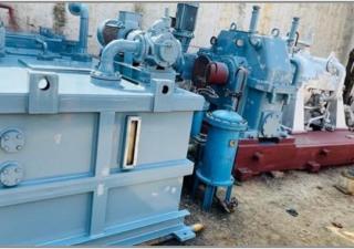 1 No.  – 6000 kW APE Belliss (2006) make, Back Pressure type Steam Turbine Generator Set