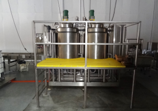 Twin Jacketed Tank Blend System