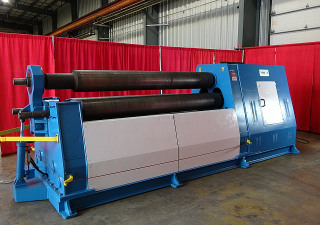 """Pre-Owned Birlik-Barcorp Plate Roll, 8' X 5/8"""" Capacity, Model Hsm-3"""