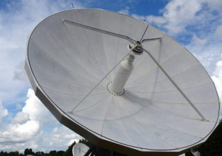 Vertex 6.3m C-Band Non-motorized Receive only Antenna