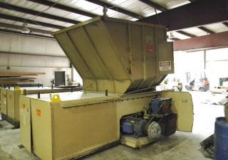 150 Hp 48″ X 60″ Shred Tech Sts-90L Tandem Shredders