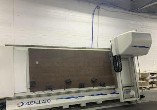 Busellato V-Tech Vertical CNC Router