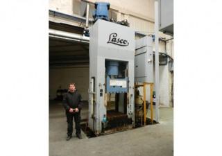 Lasco TSP 250 ton metal press