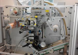 Romaco Siebler HM3/290 + P100 Bagging machine - Vertical -  Sachet machine
