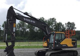 2018 Volvo Ec220El Track Excavator