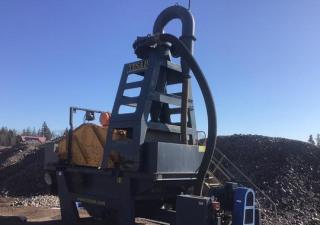 Usine de sable de lavage au cyclone Tesab Dsp 150 2016